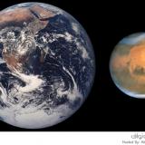 رصد المريخ في السعودية
