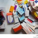 علب الدواء