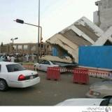 سقوط مبنى