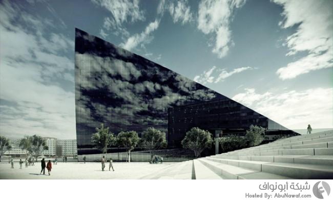 مبنى فريد