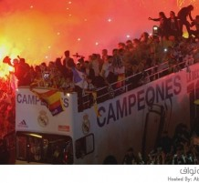 إحتفالات ريال مدريد