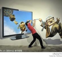 افتتاح مدينة تفاعلية للوحات ثلاثية الأبعاد في الصين