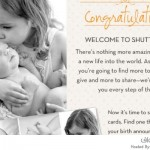 بطاقة تهنئة مولود