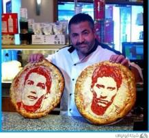 بيتزا المشاهير