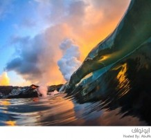 بركان في جزيرة هاواي