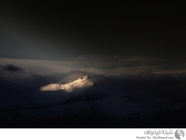 صور آيسلندا بالأشعة تحت الحمراء