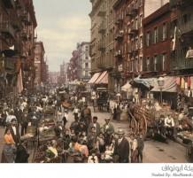 صور ملونة قديمة لأمريكا