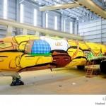 طائرة المنتخب البرازيلي
