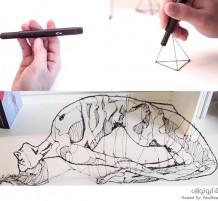 قلم ثلاثي الأبعاد