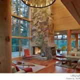 منزل بين الغابات