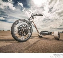 أول دراجة إنجرافية