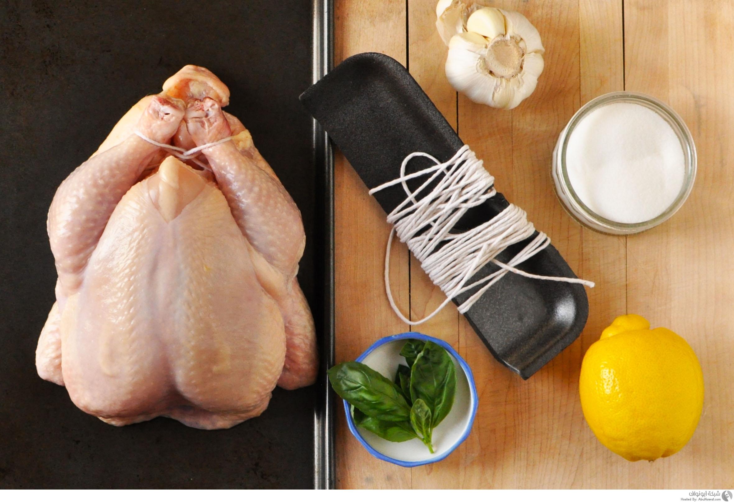 مخاطر غسل الدجاج