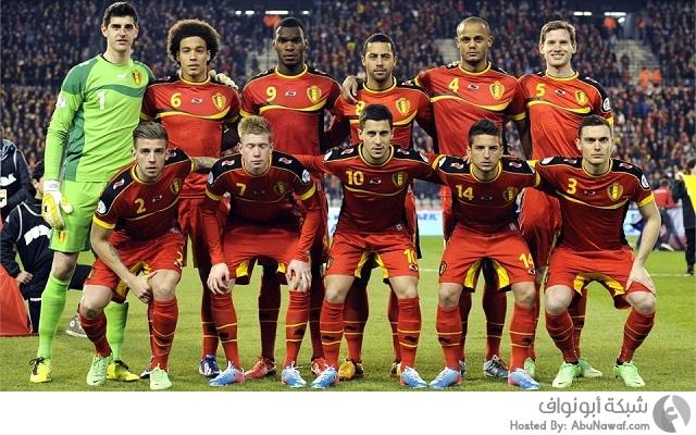 لاعبين بلجيكا