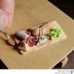 أطباق الطعام المصغرة
