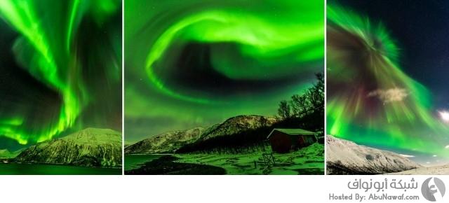 الشفق في القطب الشمالي