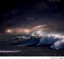 العواصف البحرية