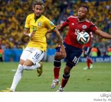 المنتخب البرازيلي والكولومبي كأس العالم 2014
