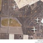 صور جوية لبعض مطارات العالم من خرائط جوجل