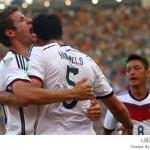 كأس العالم 2014 ألمانيا تطيح بالديوك وتتأهل للدور نصف النهائي