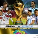 كأس العالم 2014 المبارة النهائية