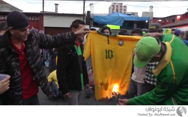 هزيمة البرازيل كأس العالم 2014
