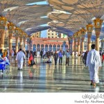 مظلات ساحات الحرم النبوي