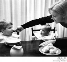 لقطات قديمة لأمهات