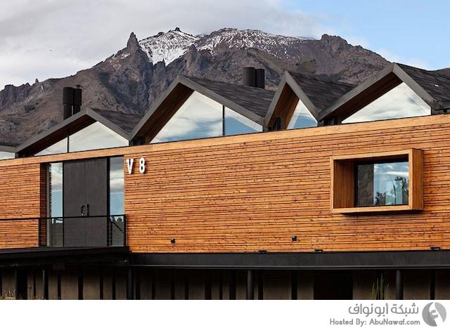 منزل عصري وسط جبال الأنديز
