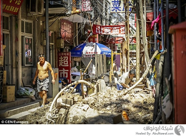 أزمة مياه في بكين