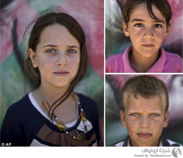 أطفال سوريا اللاجئين