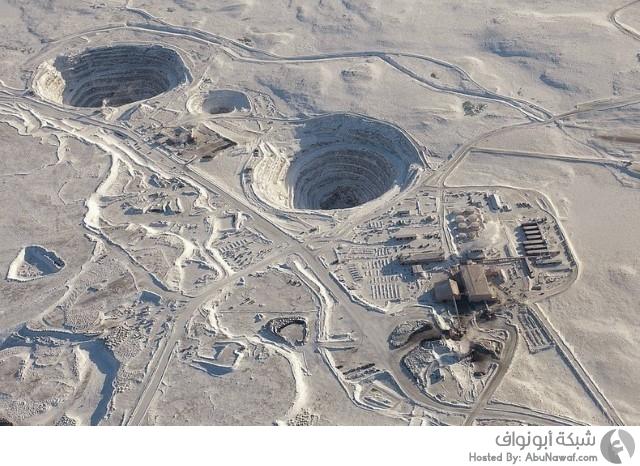 أكبر مناجم الماس في العالم