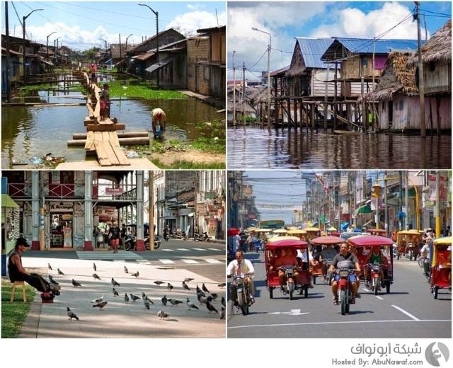 إكيتوس أكبر مدينة في العالم،