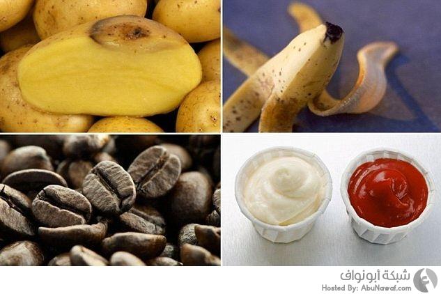 استخدم المواد الغذائية بديل عن مواد التنظيف