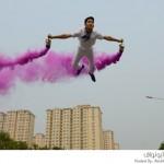 الطيران في السماء دون استخدام الفوتوشوب
