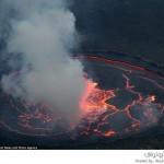 بحيرة بركانية