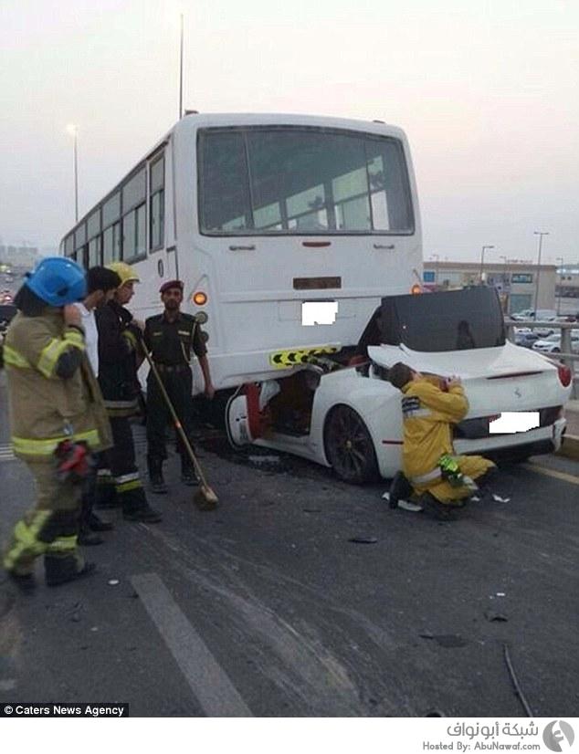 حادث سير مروع في إمارة عجمان
