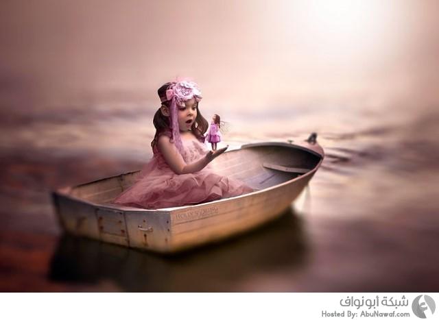 صور خيالية لطفلة جميلة مبتورة اليد