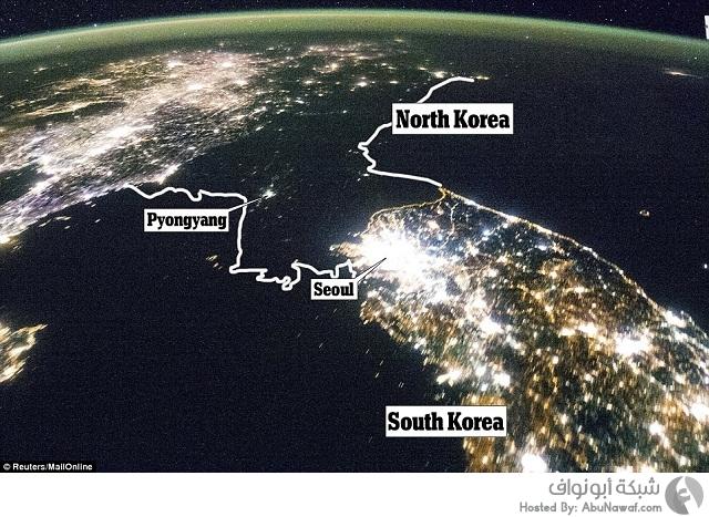 كوريا الجنوبية معتمة