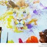 لوحات فنية من الأيس كريم