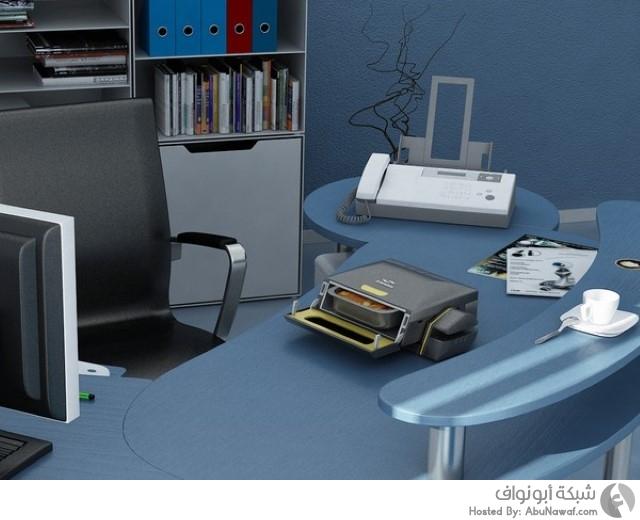 الميكروويف المكتبي