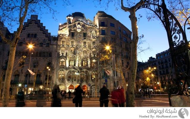 برشلونة مدينة سياحية