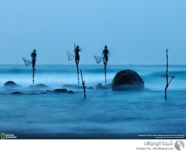 صيد الأسماك في سريلانكا