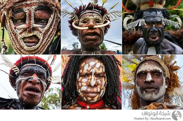 قبائل الجزيرة الإندونيسية