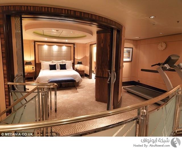 السفينة الأكثر فخامة في العالم