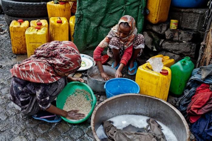 أزمة مياه في إثيوبيا