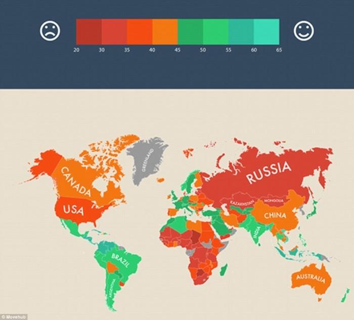 الدول الأكثر سعادة في العالم