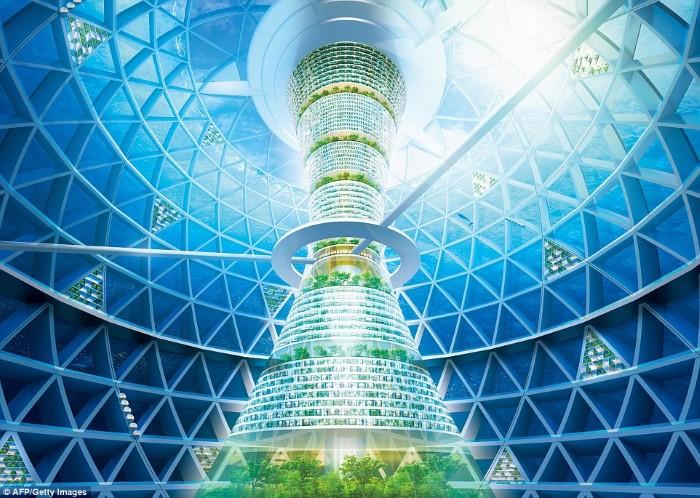 المدن المستقبلية العائمة