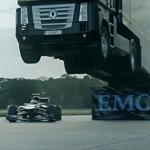 سباق سيارة فورمولا 1 شاحنة