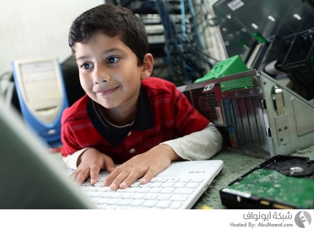 أول طفل متخصص حاسوب مايكروسوفت تقنية