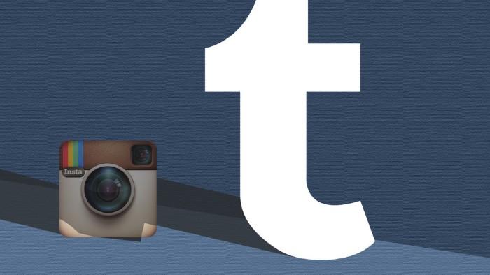 Tumblr nstagram تمبلر انستقرام مقارنة سرعة نمو